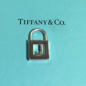 "RTRD Tiffany & co ""J"" padlock"